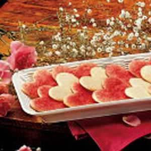 Valentine Sugar Cookies Recipe
