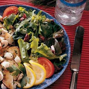 Greens with Mustard Vinaigrette Recipe