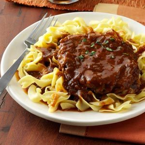 Salisbury Steak with Onion Gravy Recipe