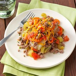 Vegetable Beef Casserole Recipe