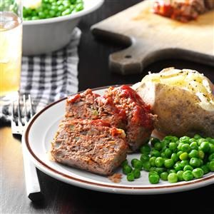 Vegetable Meat Loaf Recipe