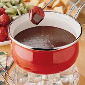 Mocha Fondue Recipe | Taste of Home | {Fondues 35}