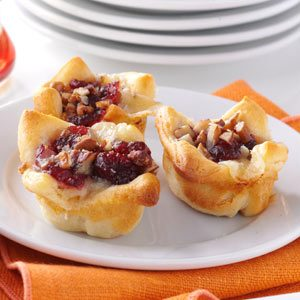 Cranberry-Brie Tartlets Recipe