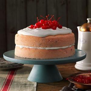 Cherry Nut Cake Recipe