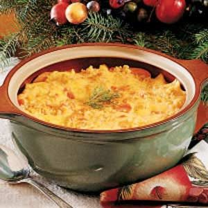 Mom's Carrot Casserole Recipe