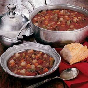 Venison Vegetable Soup Recipe