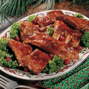 Cranberry Spareribs Recipe