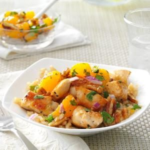 Chicken with Mandarin Salsa Recipe
