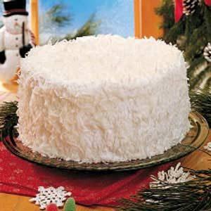Mama's Snow Cake Recipe