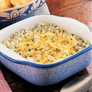 Mom's Green Rice Recipe