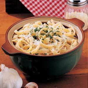 Creamy Parmesan Noodles Recipe