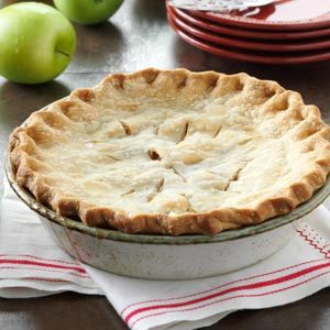 Washington State Apple Pie Recipe