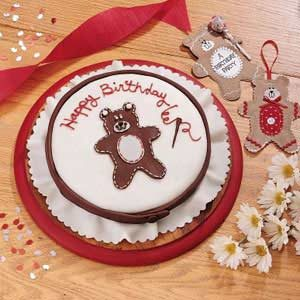 Stitched Teddy Bear Birthday Cake Recipe