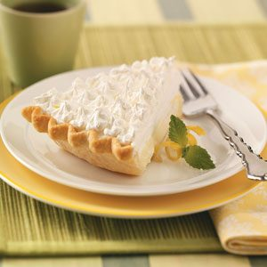 Sour Cream-Lemon Pie Recipe