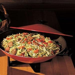 Italian Sausage and Zucchini Stir-Fry