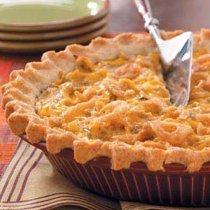 Tater Crust Tuna Pie Recipe