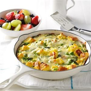 Asparagus & Cheese Frittata Recipe