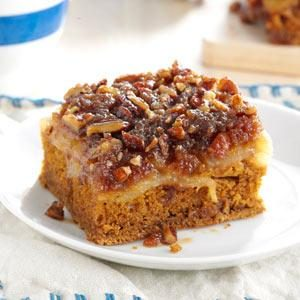 Pear Upside-Down Gingerbread Recipe