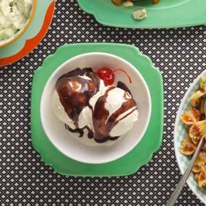 Fast Fudge Sundaes Recipe