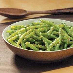 Sesame Green Beans Recipe
