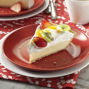 Citrus Sour Cream Pie Recipe