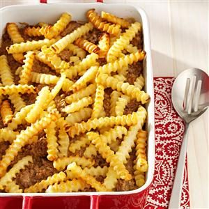 Cheeseburger 'n' Fries Casserole