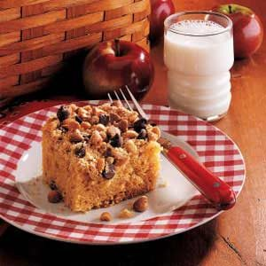 Peanut Crunch Cake Recipe