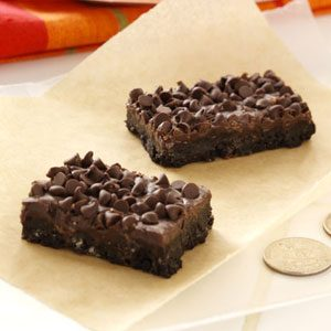 Double Chocolate Bars Recipe