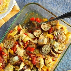 Artichoke Ratatouille Chicken Recipe