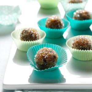 Apricot-Pecan Sugarplums Recipe