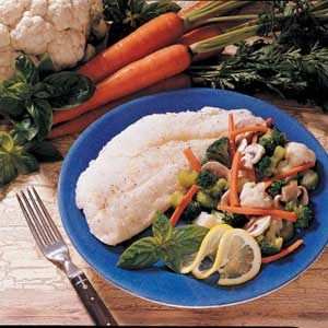 Fish and Veggies Primavera Recipe