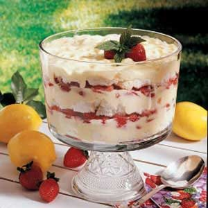Strawberry Lemon Trifle Recipe