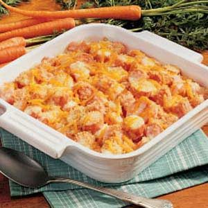 Zesty Carrot Bake Recipe