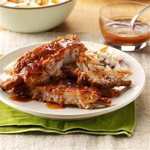 Tender 'n' Tangy Ribs Recipe