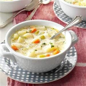 No-Fuss Potato Soup Recipe