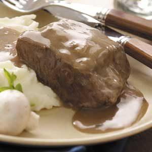 Beef in Mushroom Gravy Recipe