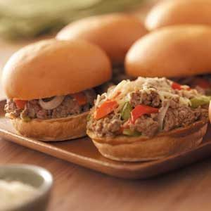 Hearty Italian Sandwiches Recipe