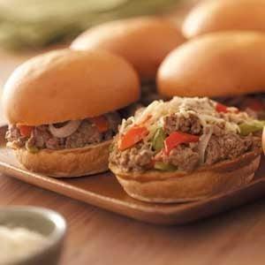 Hearty Italian Sandwiches Recipe