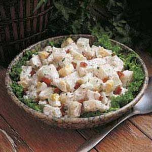 Zesty Potato Salad Recipe