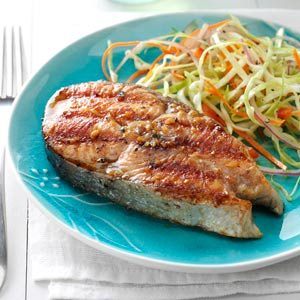Barbecued Alaskan Salmon Recipe
