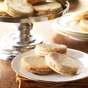 Banana Cream Sandwich Cookies Recipe