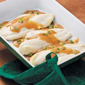 Catfish in Ginger Sauce Recipe
