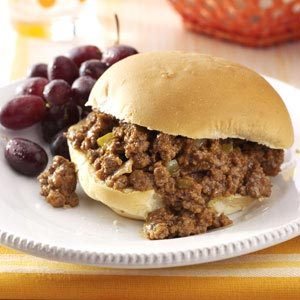 Zesty Sloppy Joes Recipe