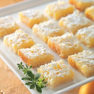 Lemon Coconut Squares Recipe photo by Taste of Home