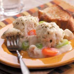Quicker Chicken and Dumplings (speedier version)