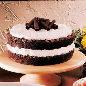 Chocolate Praline Torte Recipe