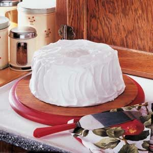 Fluffy White Frosting Recipe photo by Taste of Home