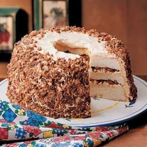 Layered Toffee Cake Recipe
