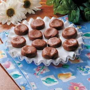 Fudgy Buttons Recipe