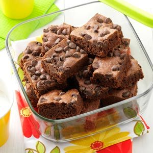 Speedy Brownies Recipe